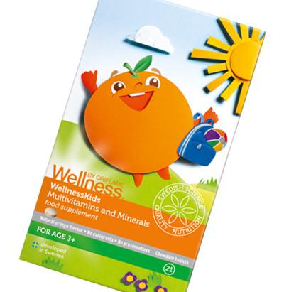 WellnessKids by Oriflame - suplementy dla dzieci
